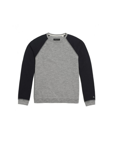 RAG & BONE COLORBLOCK RAGLAN