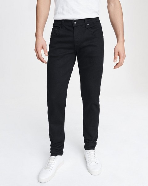 RAG & BONE FIT 1 IN BLACK - 30 INCH INSEAM AVAILABLE