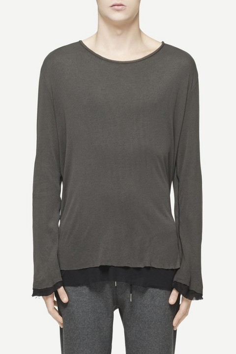 RAG & BONE HACKETT LONG SLEEVE TEE