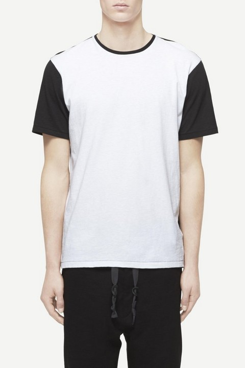 RAG & BONE COLORBLOCK EVERETT TEE