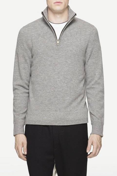 RAG & BONE NATHAN ZIP NECK