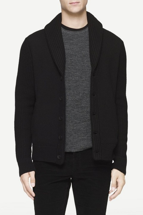 RAG & BONE CURTIS SHAWL CARDIGAN