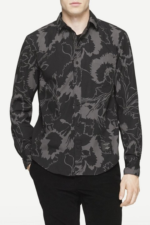 RAG & BONE PANELED YOKOHAMA SHIRT