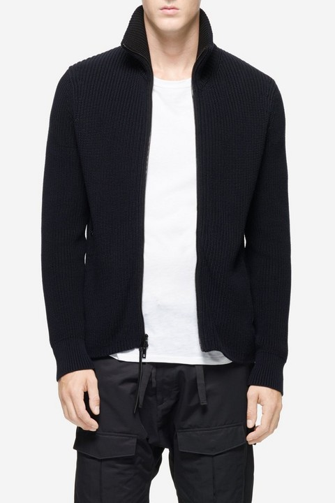 RAG & BONE MITCHELL ZIP CARDIGAN