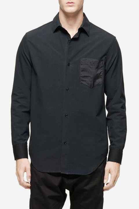RAG & BONE 1 POCKET DRILL SHIRT