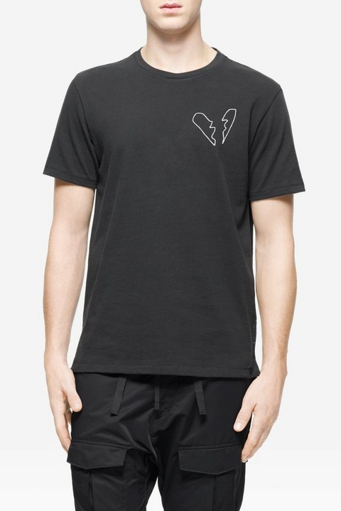 RAG & BONE HEARTBREAKER EMBROIDERY TEE