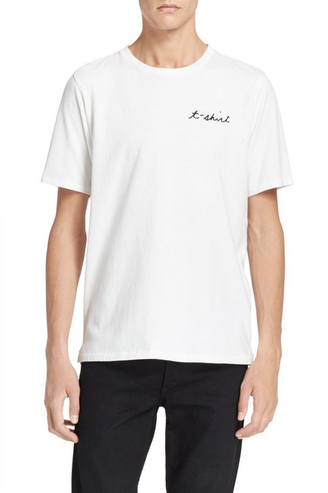RAG & BONE TSHIRT EMBROIDERY TEE