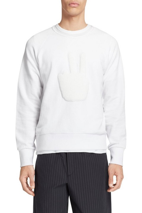 RAG & BONE PEACE SWEATSHIRT