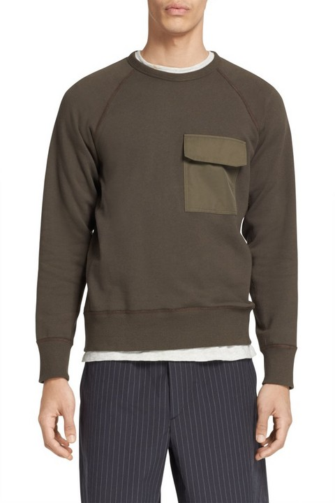 RAG & BONE AVIATOR SWEATSHIRT