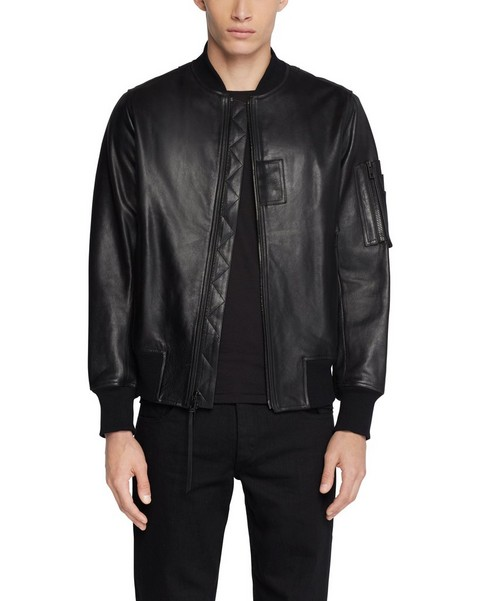 RAG & BONE LEATHER MANSTON JACKET