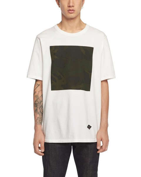 RAG & BONE CAMO BOX TEE