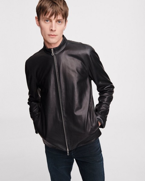 RAG & BONE LEATHER AGNES JACKET