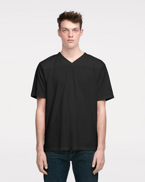 RAG & BONE FOOTBALL T-SHIRT