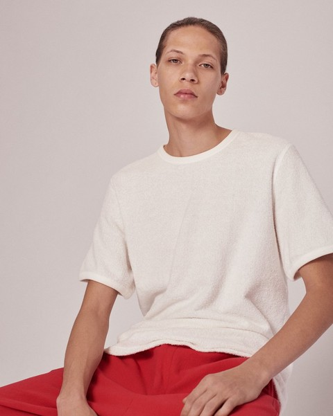 RAG & BONE TOWELING  T-SHIRT