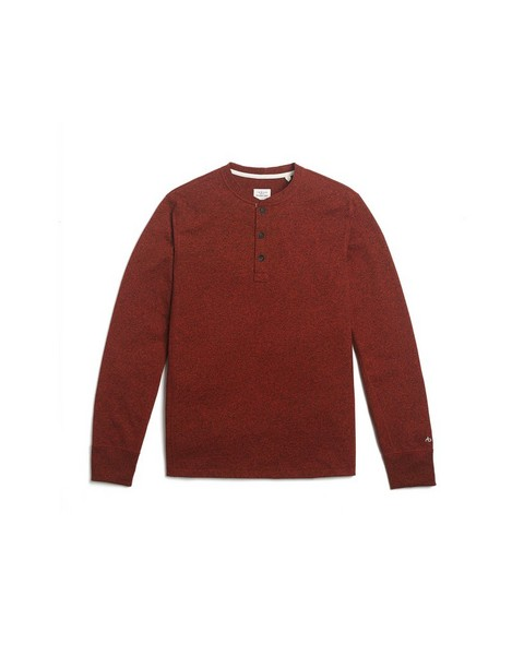 RAG & BONE LONG SLEEVE  CLASSIC HENLEY