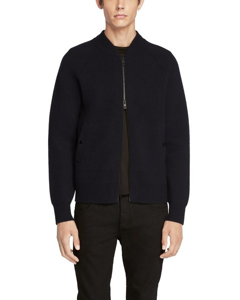 RAG & BONE MICHAEL ZIP THROUGH JACKET