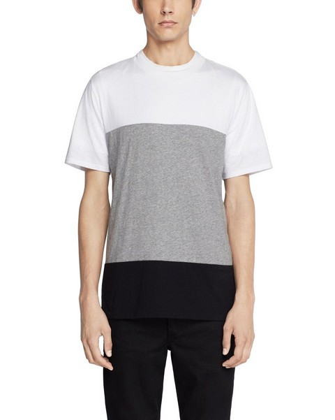 RAG & BONE COLORBLOCK PRECISION T-SHIRT