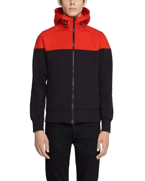 RAG & BONE COLOR BLOCK PRECISION HOODY
