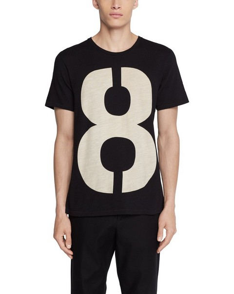 RAG & BONE NUMBER PRINT CREWNECK