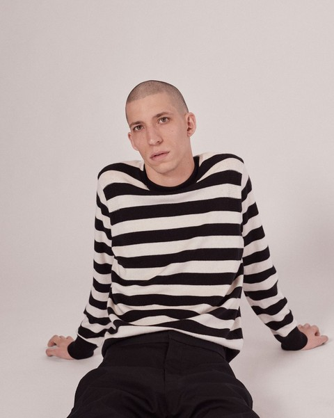 RAG & BONE WILLIAM STRIPE CREW