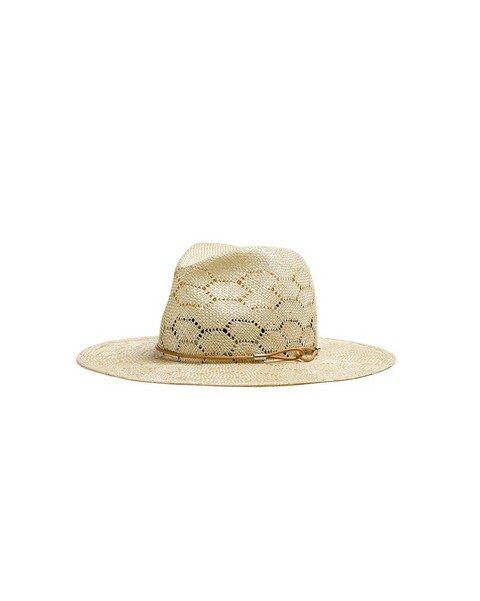 RAG & BONE Straw Wide Brim Fedora