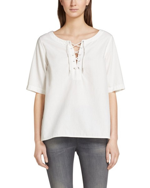 RAG & BONE Lace Up Top