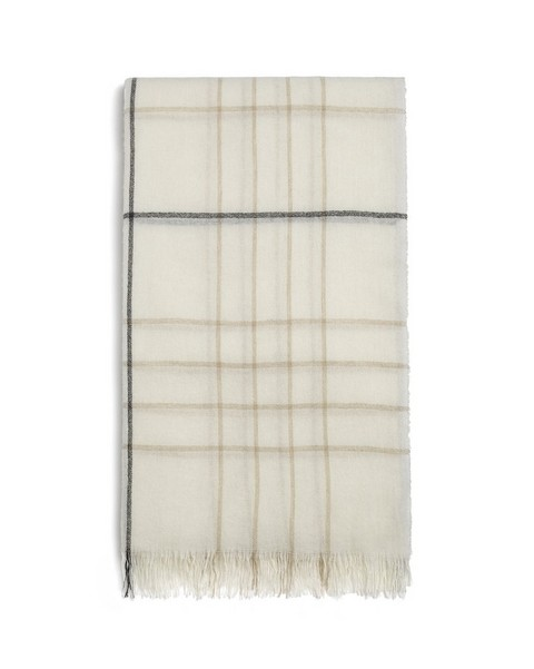 RAG & BONE WINDOWPANE CHECK SCARF