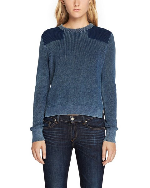 RAG & BONE TAYLOR WASHED PULLOVER