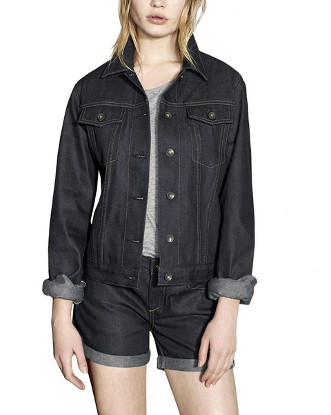 RAG & BONE ROLLED SELVAGE JACKET