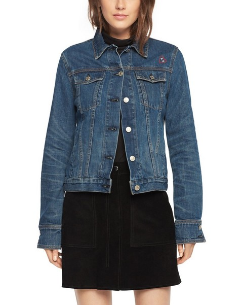 RAG & BONE JEAN JACKET - EMBROIDERED