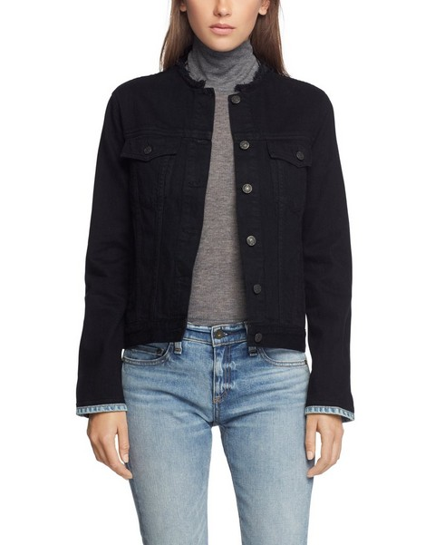 RAG & BONE COLLARLESS JACKET