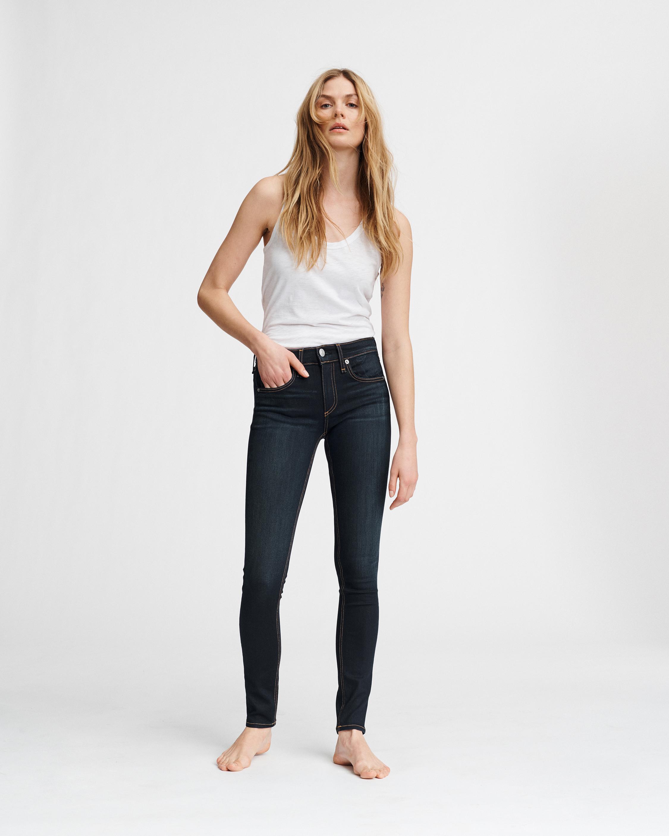 Mid Rise Skinny Women Jeans Rag Bone
