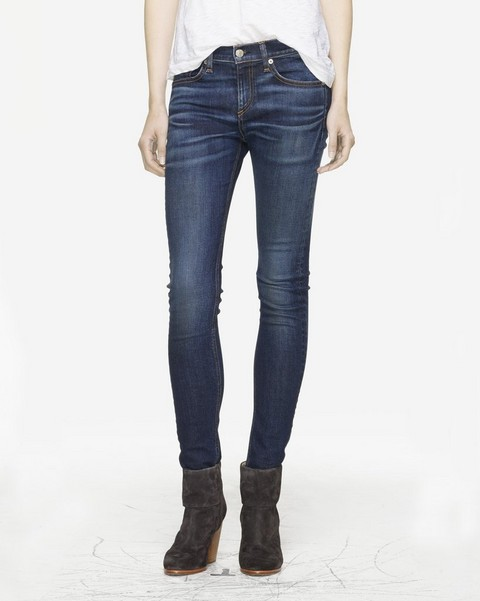 RAG & BONE High Rise Skinny Jean