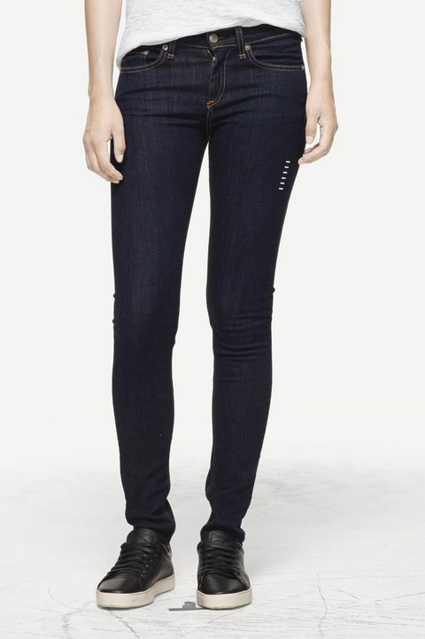 RAG & BONE BASSER HIGH RISE SKINNY