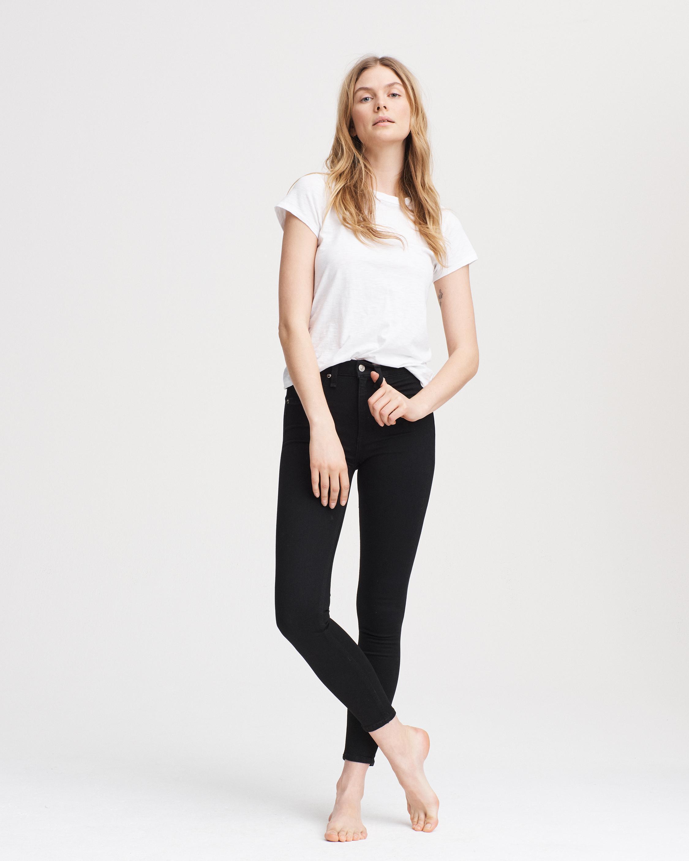 High Rise Ankle Skinny Women Jeans Rag Bone