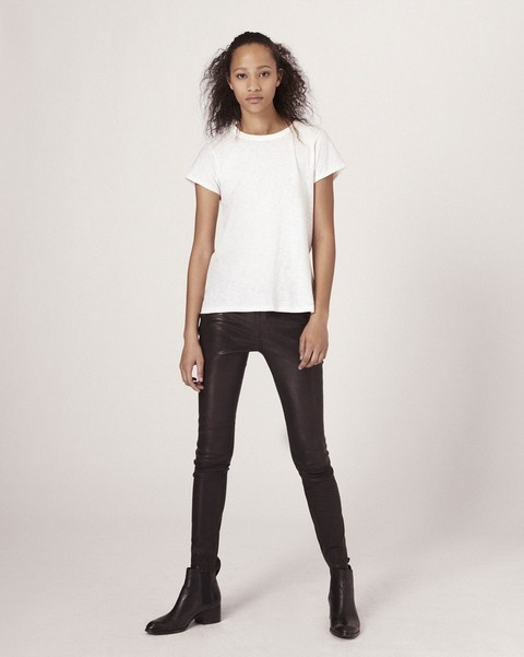 RAG & BONE Skinny Leather Pant