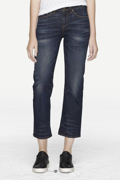 RAG & BONE CROP STRAIGHT LEG