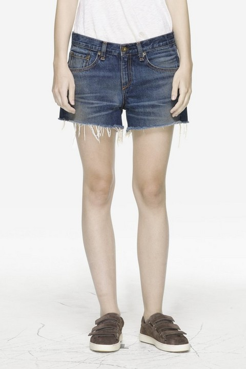 RAG & BONE BOYFRIEND CUT OFF SHORT