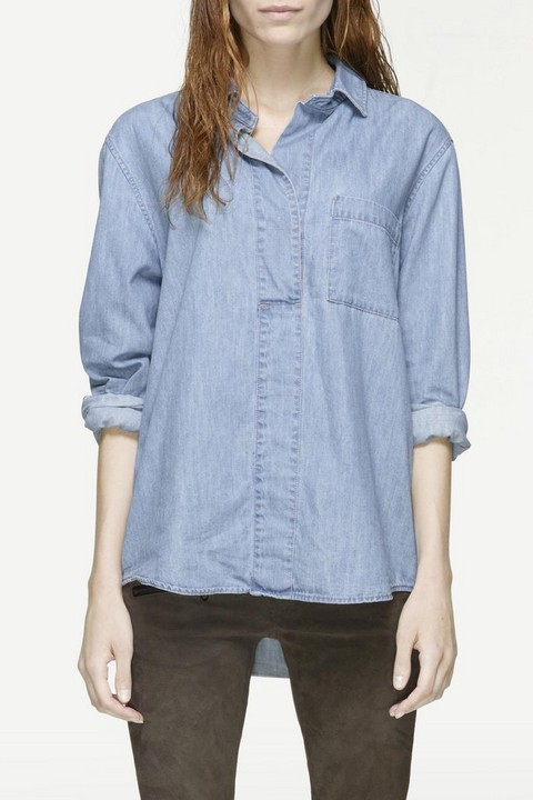 RAG & BONE LEEDS BUTTON UP
