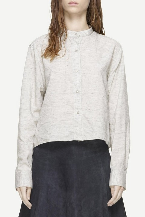 RAG & BONE CROP LEEDS BUTTON UP
