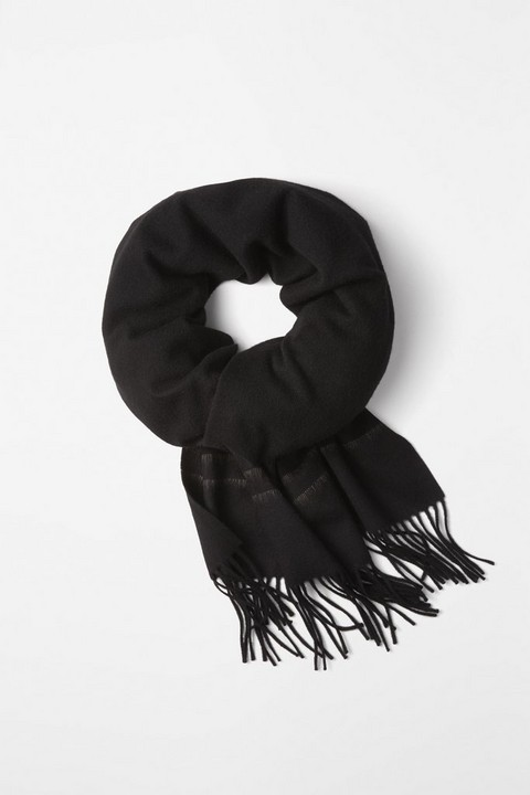 RAG & BONE BRUSHED STRIPE SCARF