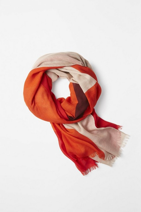 RAG & BONE PLACED DIAMOND SCARF