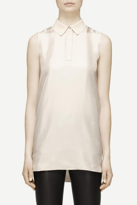 RAG & BONE MAUDE SLEEVELESS SHIRT