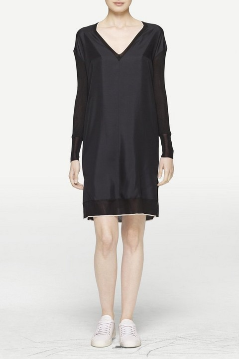 RAG & BONE MAUDE LONG SLEEVE DRESS