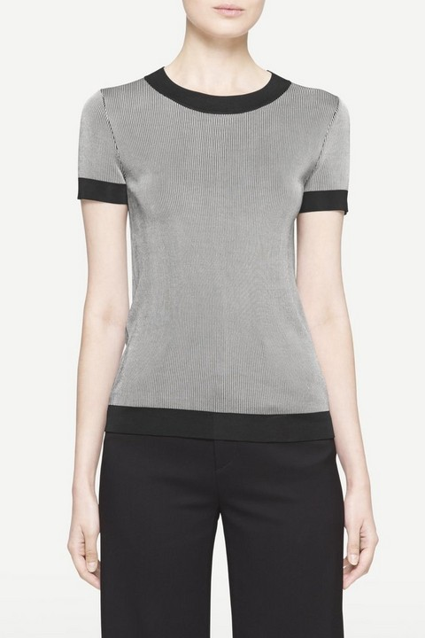 RAG & BONE LELIA SHORT SLEEVE CREW
