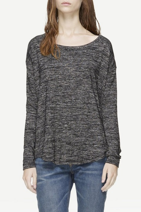RAG & BONE SHOW OFF LONG SLEEVE TEE