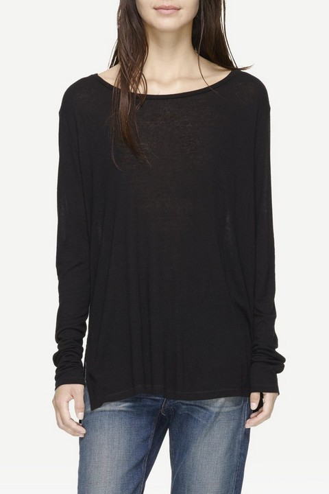RAG & BONE CONCERT LONG SLEEVE TEE