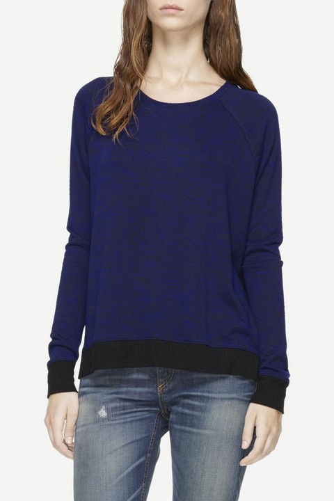 RAG & BONE CAMDEN LONG SLEEVE RIB TEE