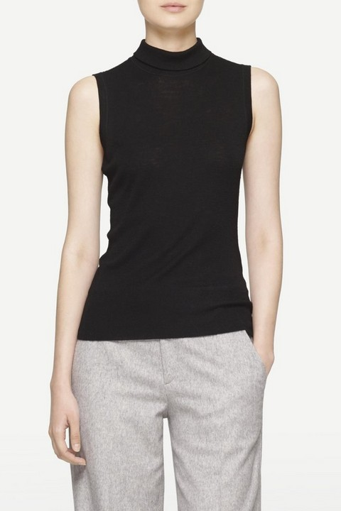RAG & BONE BRIONY SLEEVELESS TURTLENECK