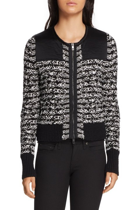 RAG & BONE VIOLA SWEATER JACKET